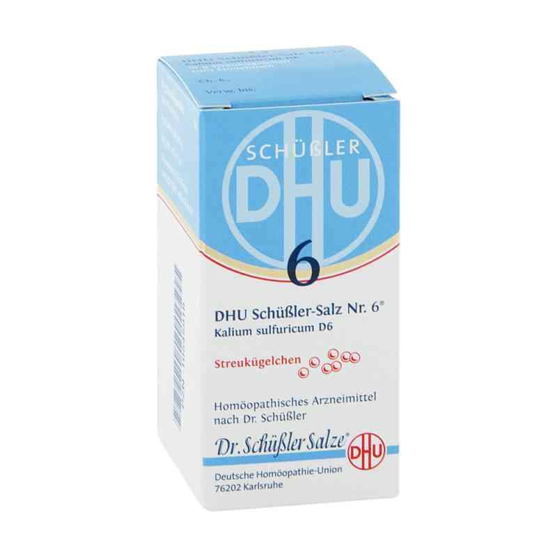 Biochemie Dhu 6 Kalium Sulfur D  6 Globuli zamów na apo-discounter.pl