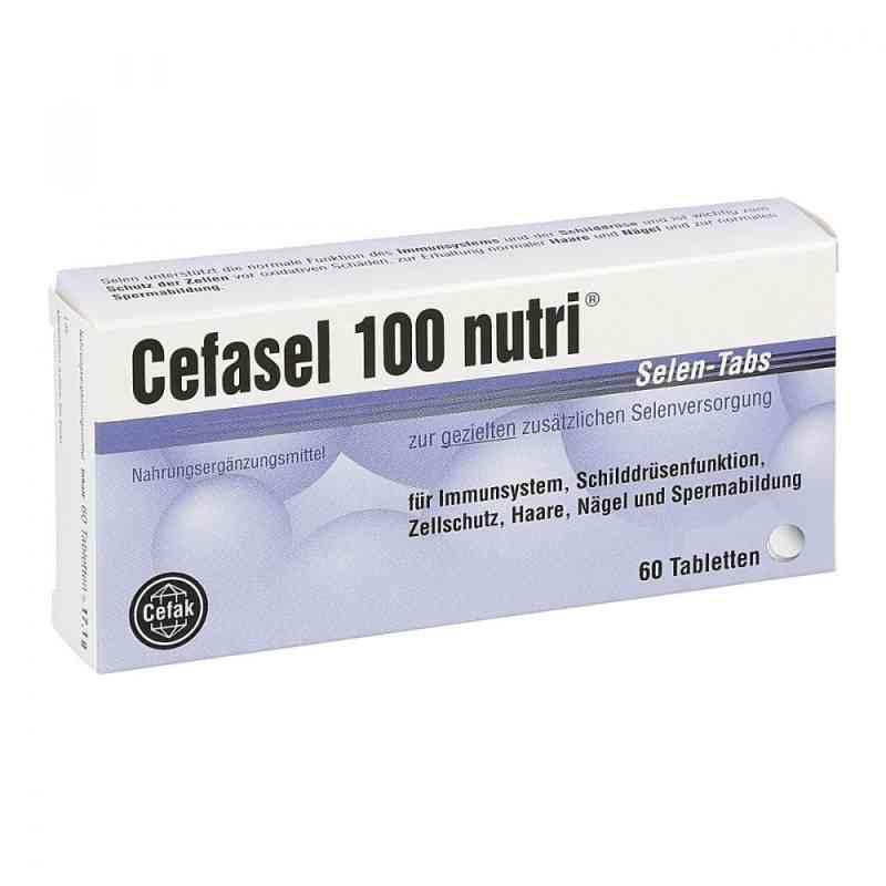 Cefasel 100 nutri Selen-tabs  zamów na apo-discounter.pl