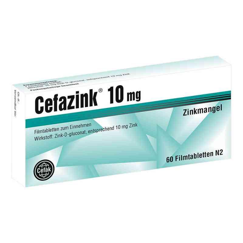 Cefazink 10 mg Filmtabletten  zamów na apo-discounter.pl