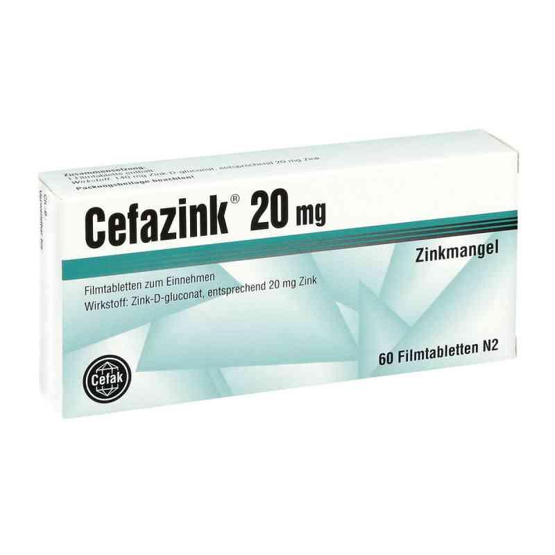 Cefazink 20 mg Filmtabletten  zamów na apo-discounter.pl