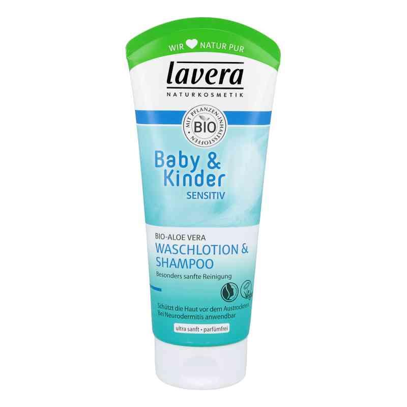 Lavera Baby & Kinder balsam i szampon 2w1  zamów na apo-discounter.pl