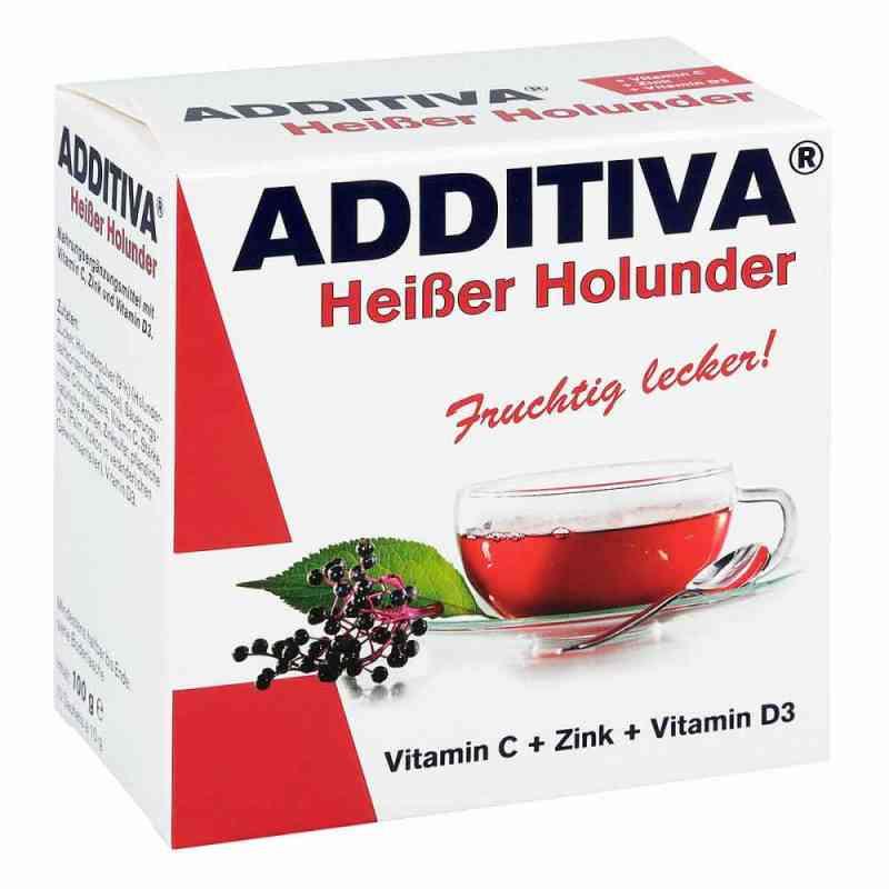 Additiva Heisser Holunder Pulver  zamów na apo-discounter.pl