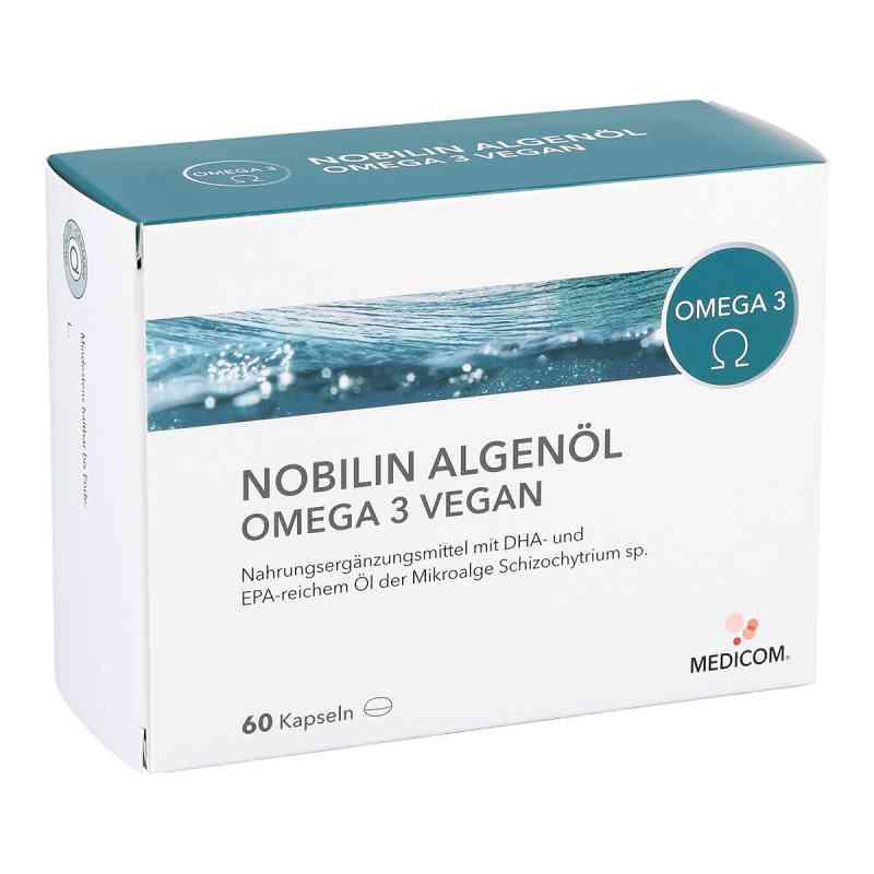 Nobilin Algenöl Omega-3 vegan Kapseln zamów na apo-discounter.pl
