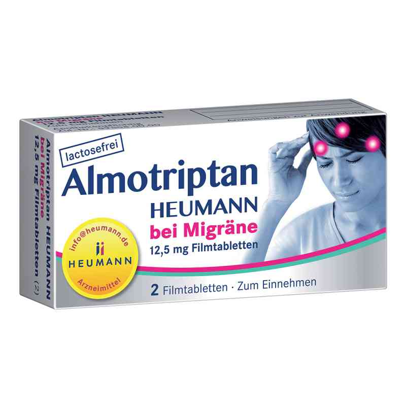 Almotriptan Heumann bei Migräne 12,5 mg Filmtabletten  zamów na apo-discounter.pl