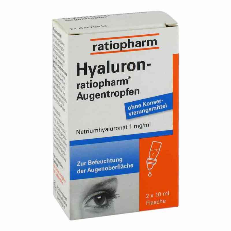 Hyaluron Ratiopharm Augentropfen  zamów na apo-discounter.pl