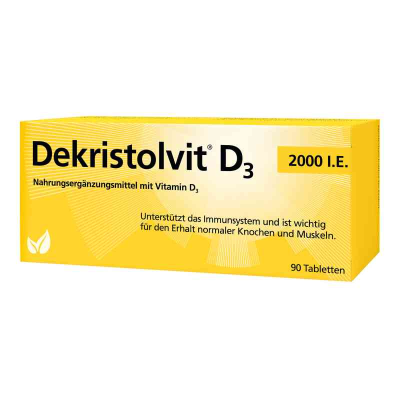 Dekristolvit D3 2.000 I.e. Tabletten zamów na apo-discounter.pl