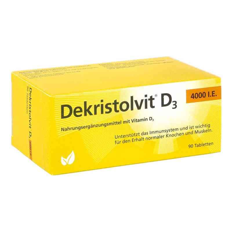 Dekristolvit D3 4.000 I.e. Tabletten  zamów na apo-discounter.pl