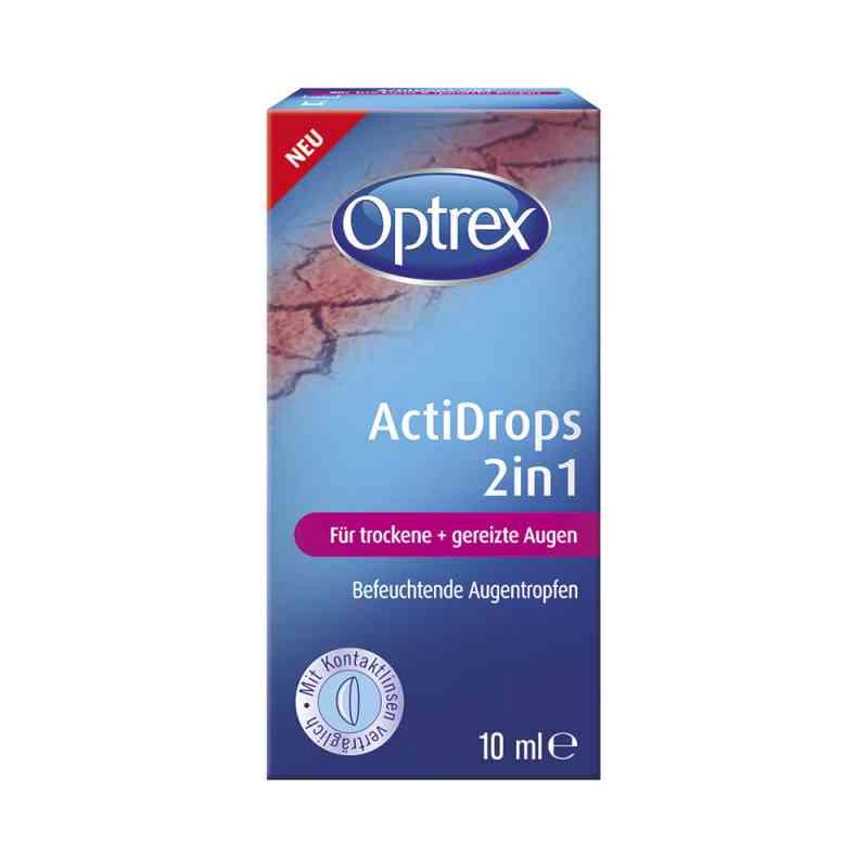 Optrex ActiDrops 2in1 krople do suchych oczu zamów na apo-discounter.pl