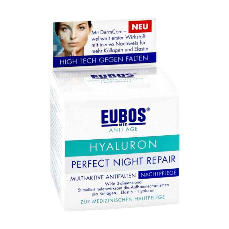 Eubos Hyaluron Perfect krem przeciwzmarszczkowy na noc  zamów na apo-discounter.pl
