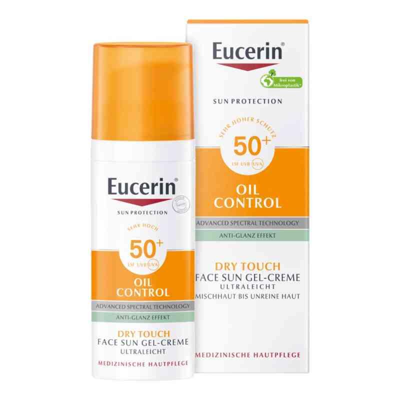 Eucerin Sun ochronny krem-żel do twarzy SPF50+ matujący  zamów na apo-discounter.pl