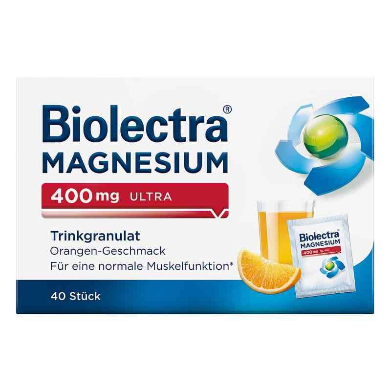 Biolectra Magnesium 400 mg ultra granulat, pomarańcza  zamów na apo-discounter.pl