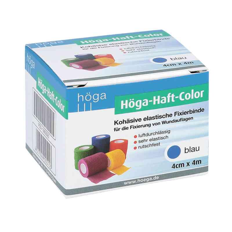 Höga Haft Color Fixierbinde 4 cmx4 m blau zamów na apo-discounter.pl