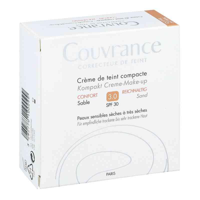 Avene Couvrance puder w kompakcie kremowy odcień intensywny pias zamów na apo-discounter.pl
