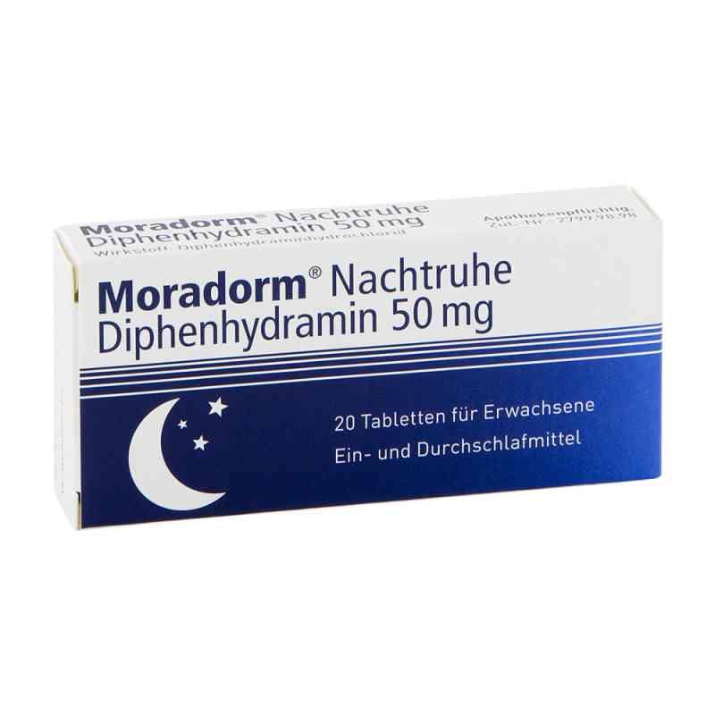 Moradorm Nachtruhe Diphenhydramin 50 mg Tabletten  zamów na apo-discounter.pl