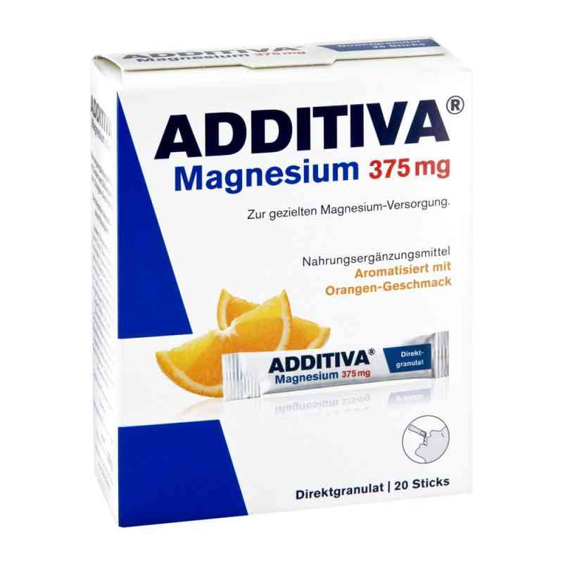 Additiva Magnez  375 mg saszetki, smak pomarańczowy  zamów na apo-discounter.pl
