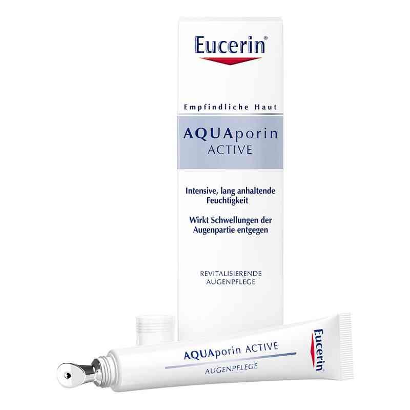 Eucerin AQUAporin Active krem pielęgnacyjny pod oczy  zamów na apo-discounter.pl