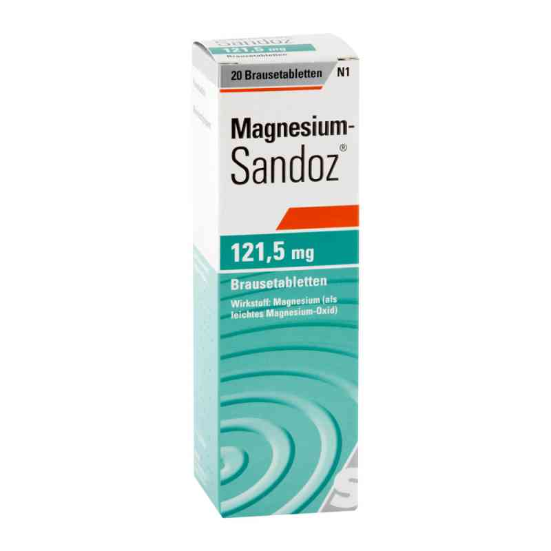 Magnesium Sandoz 121,5 mg Brausetabletten zamów na apo-discounter.pl
