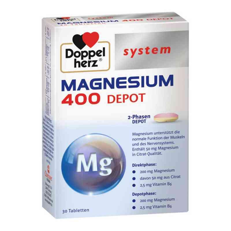 Doppelherz Magnez 400 Depot System tabletki zamów na apo-discounter.pl