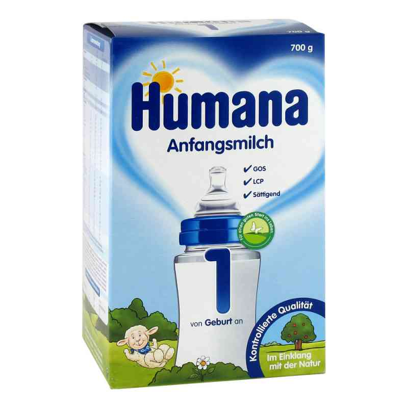 Humana Anfangsmilch 1 Lcp+gos Pulver zamów na apo-discounter.pl