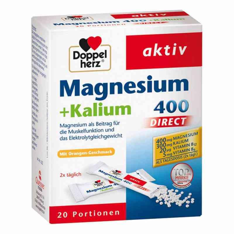 Doppelherz Magnez+Potas 400 Direct saszetki  zamów na apo-discounter.pl