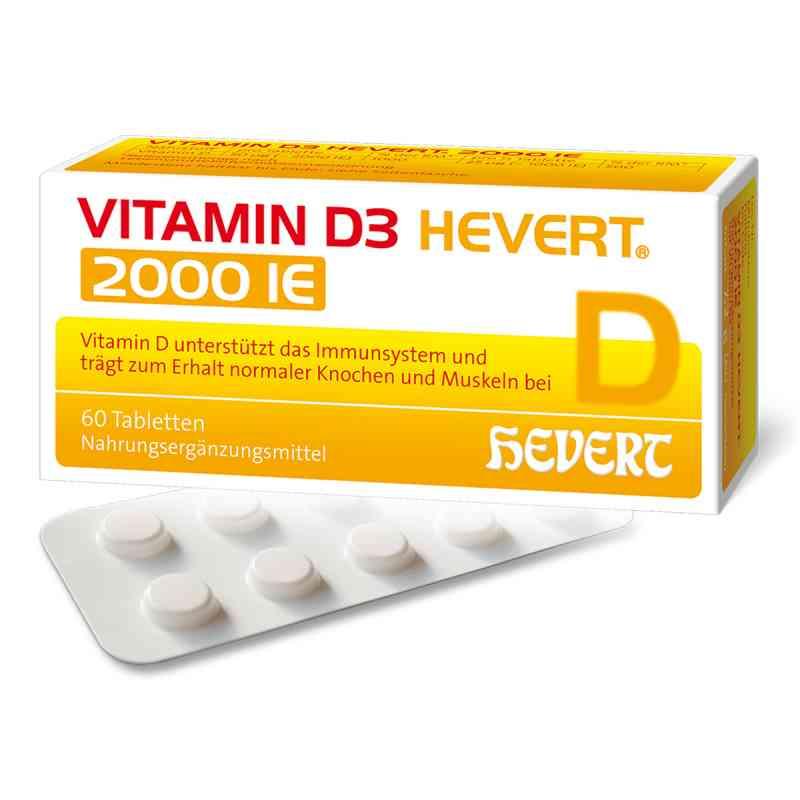 Vitamin D3 Hevert 2.000 I.e. Tabletten  zamów na apo-discounter.pl