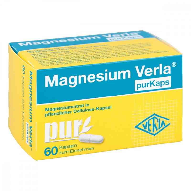 Magnesium Verla purKaps vegane Kapseln zum Einnehmen   zamów na apo-discounter.pl