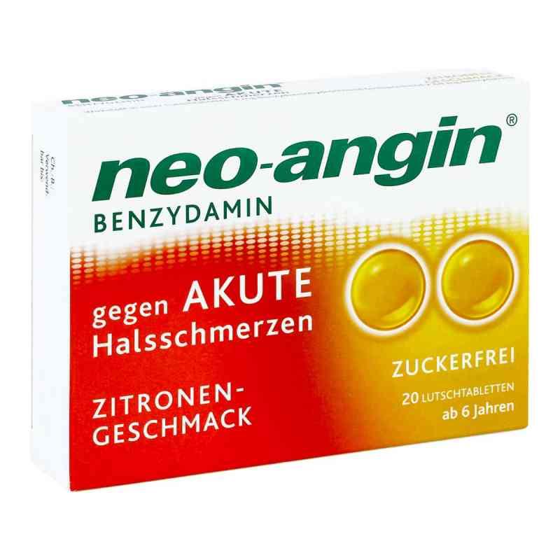 Neo Angin Benzydamin akute Halsschmerzen Zitrone  zamów na apo-discounter.pl