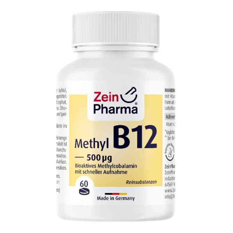 Vitamin B12 500 [my]g Methylcobalamin Lutschtablet  zamów na apo-discounter.pl