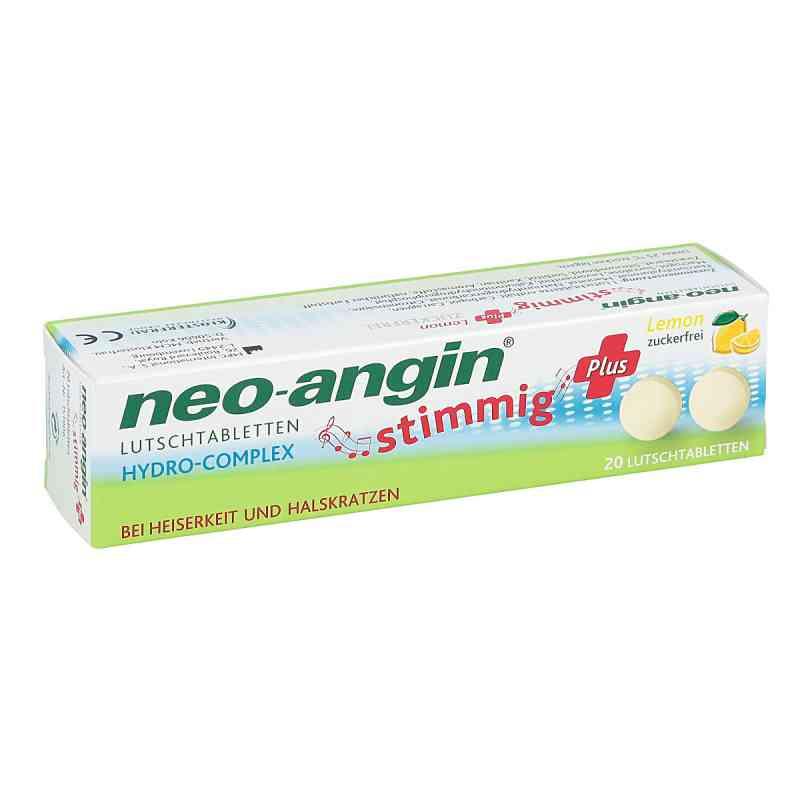 Neo Angin stimmig Plus Lemon Lutschtabletten  zamów na apo-discounter.pl
