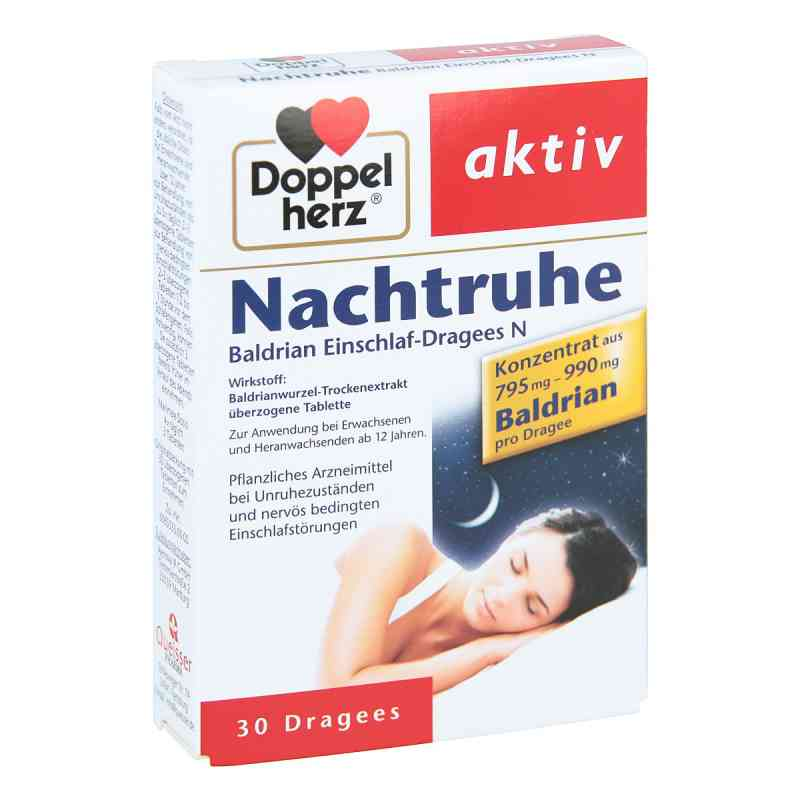 Doppelherz Nachtruhe Baldrian Einschlaf-dragees N zamów na apo-discounter.pl