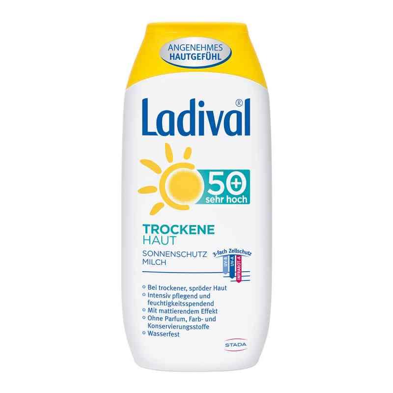 Ladival mleczko ochronne do skóry suchej SPF50+  zamów na apo-discounter.pl