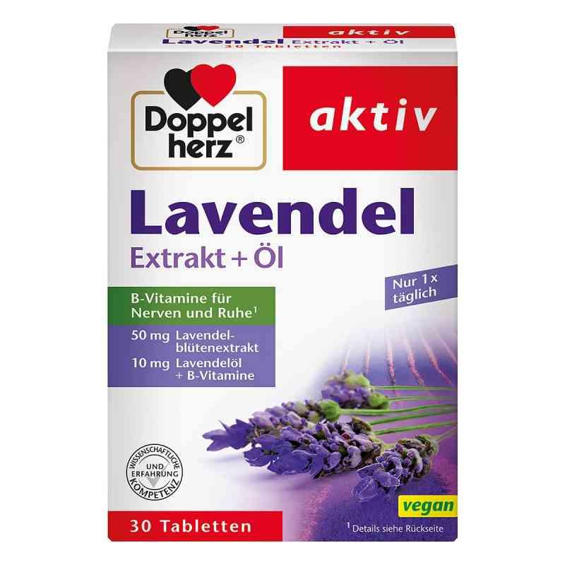 Doppelherz Lavendel Extrakt+öl Tabletten  zamów na apo-discounter.pl