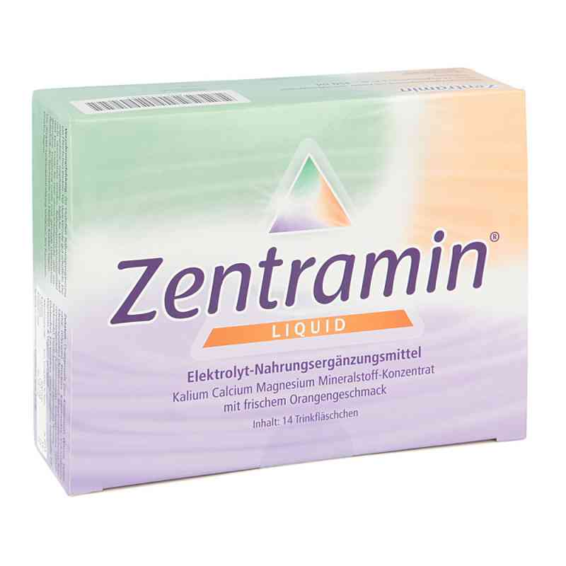 Zentramin liquid Trinkfläschchen zamów na apo-discounter.pl