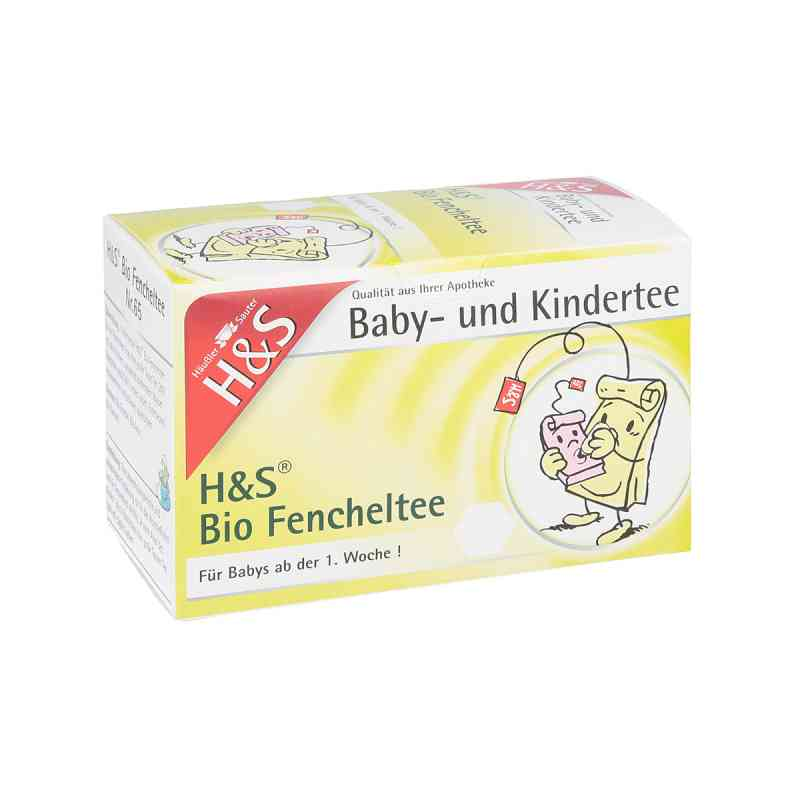 H&s Bio Fencheltee Baby- und Kindertee Filterbeut.  zamów na apo-discounter.pl