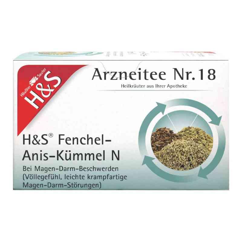 H&s Fenchel-anis-kümmel N Filterbeutel  zamów na apo-discounter.pl