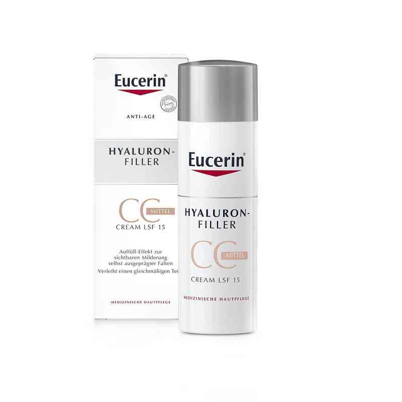 Eucerin Anti-Age Hyaluron-filler krem CC, średni  zamów na apo-discounter.pl