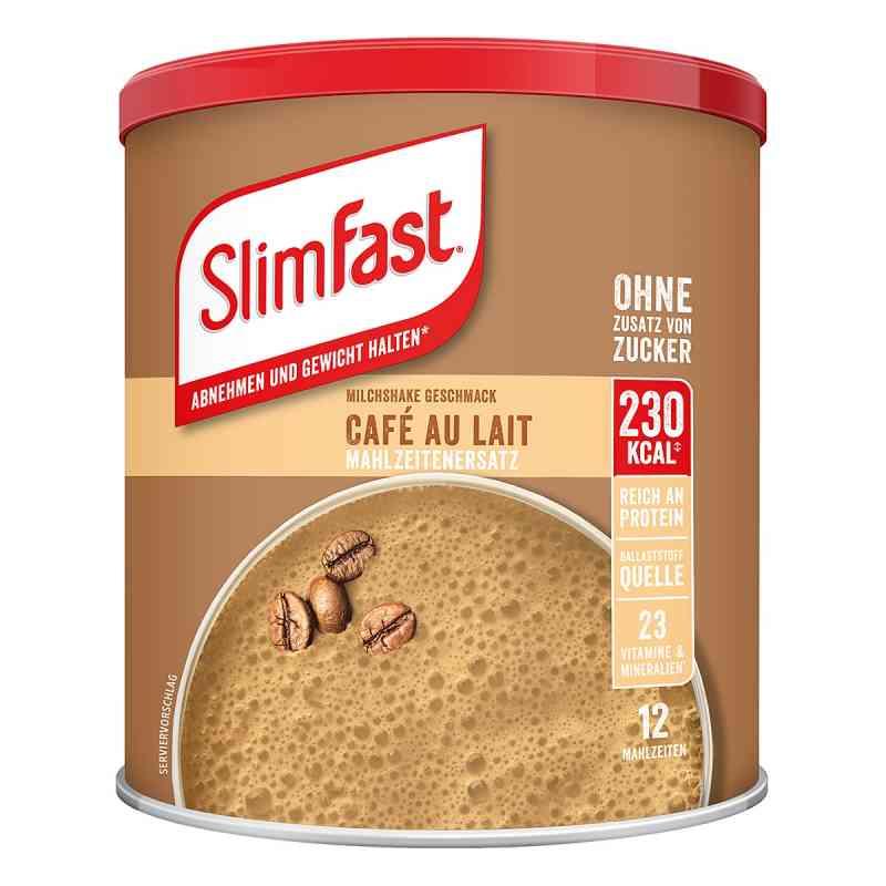 Slim Fast Cafe au Lait koktail odchudzający w proszku  zamów na apo-discounter.pl