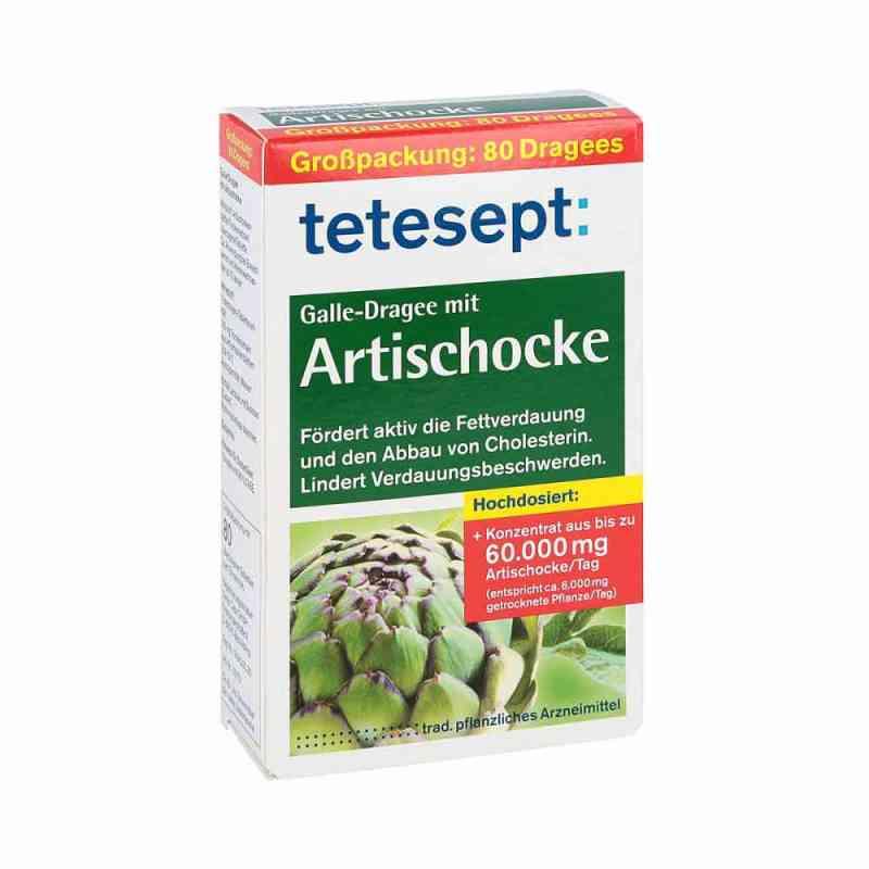 Tetesept Galle-dragee mit Artischocke  zamów na apo-discounter.pl