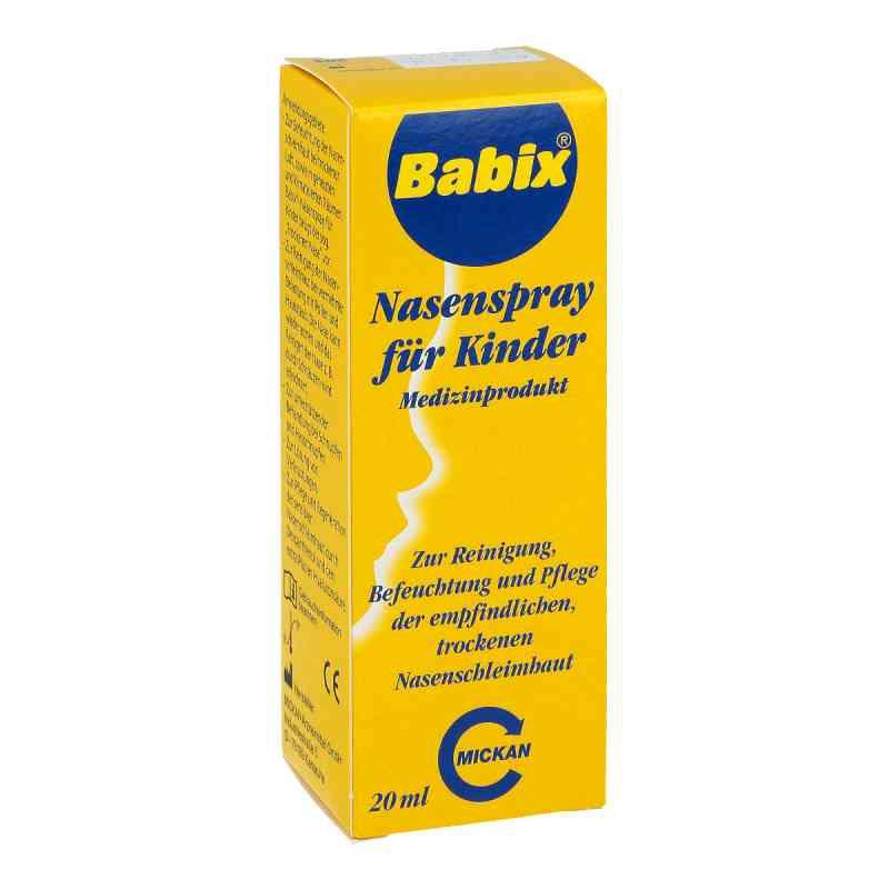 Babix Spray do nosa dla dzieci  zamów na apo-discounter.pl