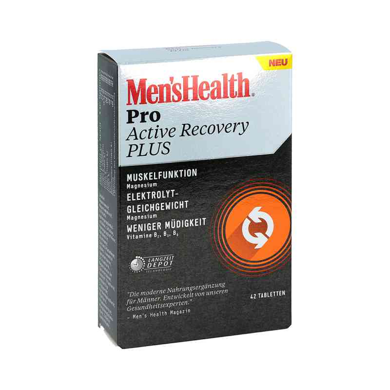 Men's Health Pro Active Recovery Plus Tabletten  zamów na apo-discounter.pl