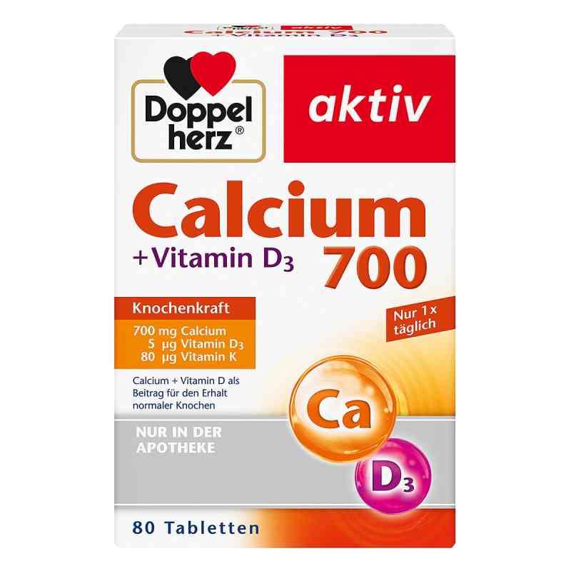 Doppelherz wapń 700 + witamina D3 tabletki  zamów na apo-discounter.pl