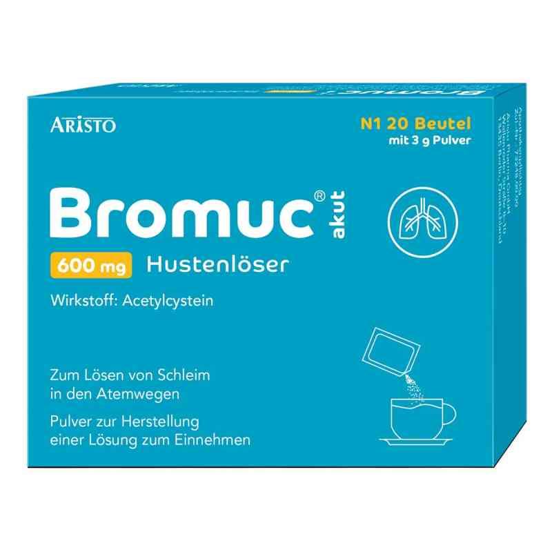 Bromuc akut 600 mg Hustenlöser Plv.z.h.e.l.z.einn. zamów na apo-discounter.pl