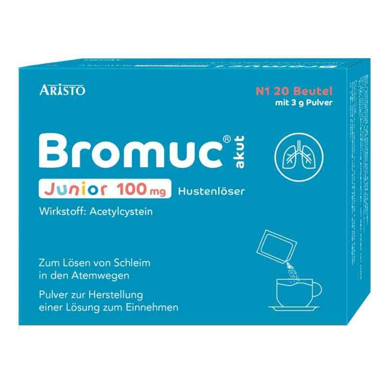 Bromuc akut Junior 100 mg Hustenlöser P.h.e.l.z.e.  zamów na apo-discounter.pl