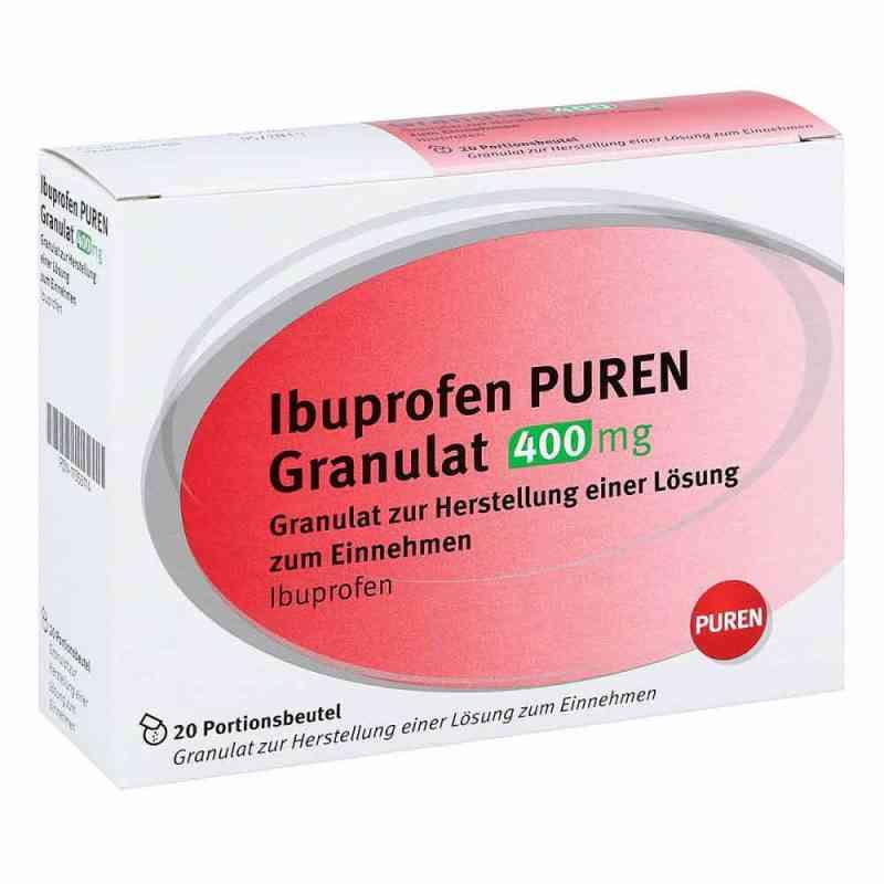 Ibuprofen Puren Granulat 400 mg zur, zum Her.e.Lsg.z.Ein. zamów na apo-discounter.pl