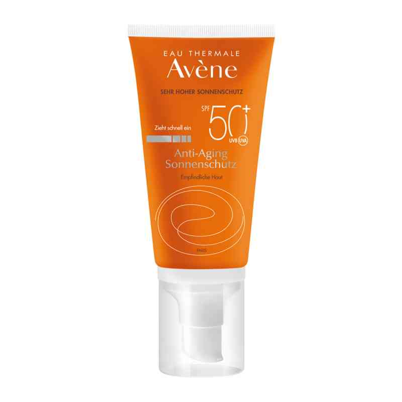 Avene Sunsitive Anti-aging Sonnenemulsion Spf 50+ zamów na apo-discounter.pl