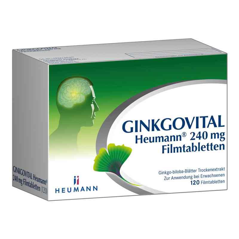 Ginkgovital Heumann 240 mg Filmtabletten  zamów na apo-discounter.pl