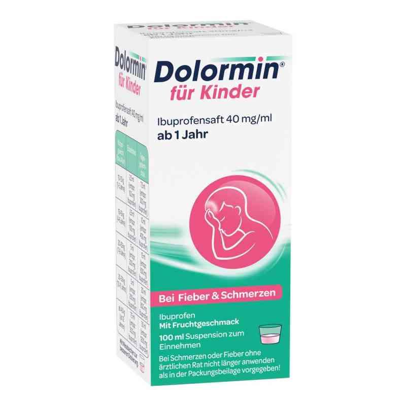 Dolormin dla dzieci, sok z ibuprofenem 40 mg/1ml suspensja  zamów na apo-discounter.pl