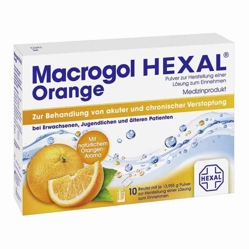 Macrogol Hexal Orange Plv.z.her.e.lsg.z.einn.btl.  zamów na apo-discounter.pl