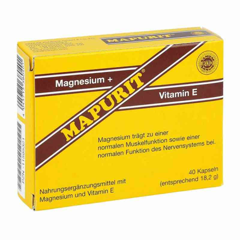 Mapurit Kapseln  zamów na apo-discounter.pl