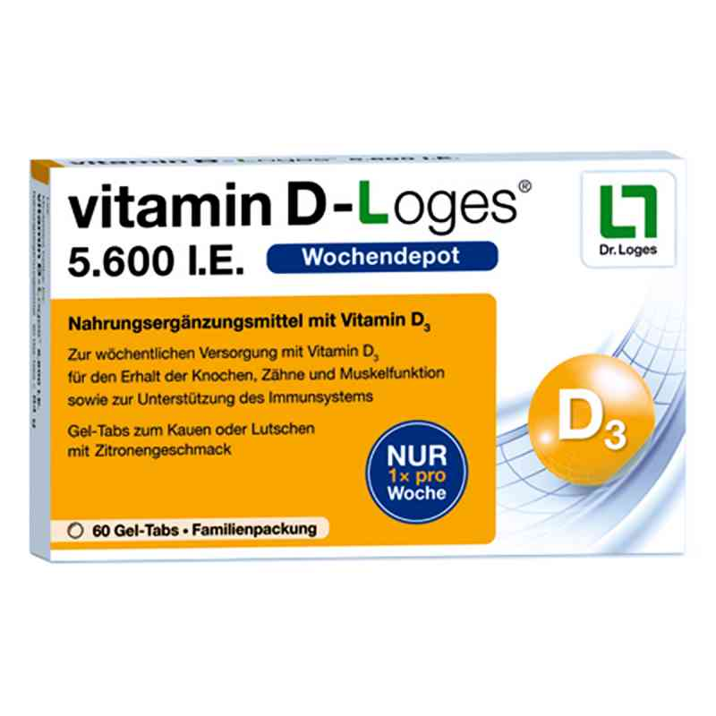 Witamina D-loges 5.600 I.e. tabletki do ssania  zamów na apo-discounter.pl